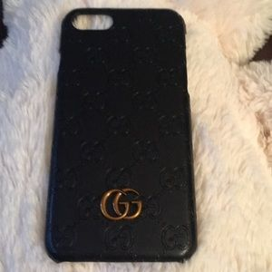 Accessories - Gucci Black phone case for iPhone 7/8